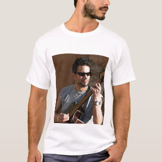 Rocking out AcousticallyLARGER T-Shirt