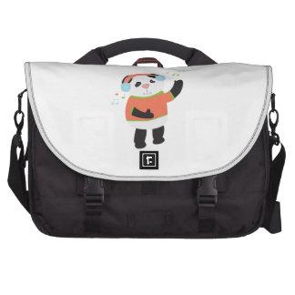 Rocking Panda Bear Computer Bag