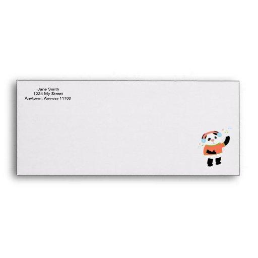 Rocking Panda Envelope