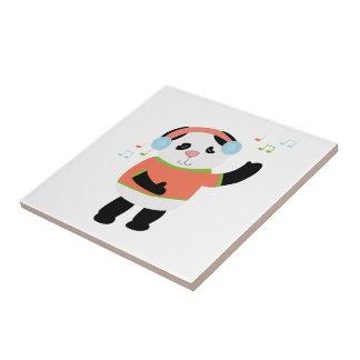 Rocking Panda Tile