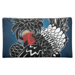 Rocking Polish Crested Chicken Cosmetic Bags