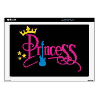 "Rocking Princess 17"" Laptop Decals"