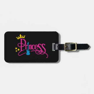Rocking Princess Bag Tag