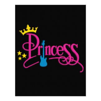 Rocking Princess Letterhead