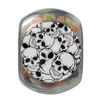 Rocking Skull Jelly Belly Candy Jar