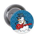 Rocking Snowman Buttons