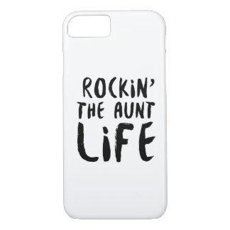 Rocking the aunt life family parent dad mom iPhone 8/7 case
