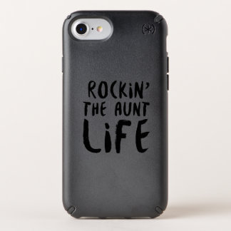 Rocking the aunt life family parent dad mom speck iPhone case