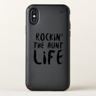Rocking the aunt life family parent dad mom speck iPhone x case