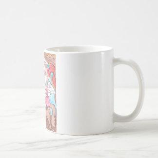 Rocking Unicorn, Fantasy art Coffee Mugs