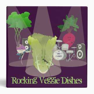 Rocking Veggie Dishes Recipe Binder