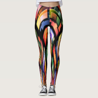 ROCKING WURLITZER LEGGINGS