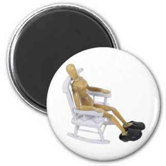RockingChairClogs030310 2 Inch Round Magnet
