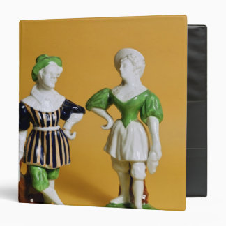 Rockingham figurines from the Commedia 3 Ring Binder