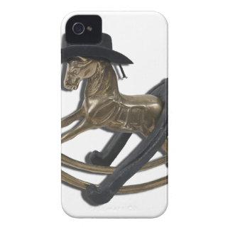 RockingHorseCowboyHatHorseShoe122312 copy.png Case-Mate iPhone 4 Case