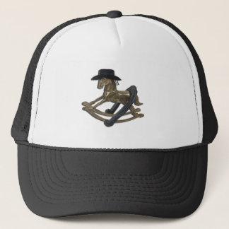 RockingHorseCowboyHatHorseShoe122312 copy.png Trucker Hat