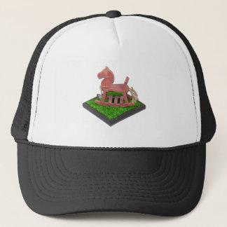 RockingHorseGrassField090312.png Trucker Hat