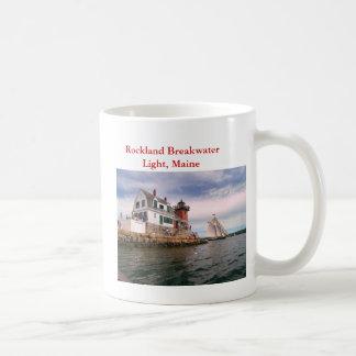 Rockland Breakwater Light, Maine Coffee Mug