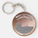 Rockland Breakwater Lighthouse Key Chain