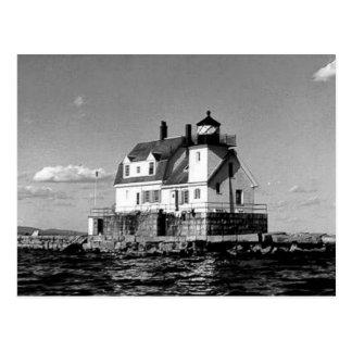 Rockland Harbor Breakwater Lighthouse Postcard