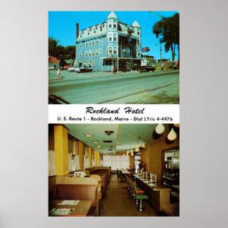 Rockland Hotel, circa 1950s Poster