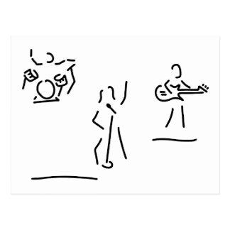 rockmusiker e gitarre headbanger postal