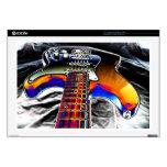 """Rockn Guitar Cover 17"""" Laptop Decal"""