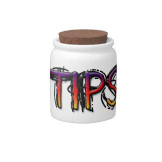 Rockn Robbin Candy Jar