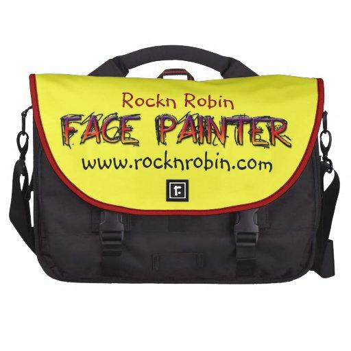 Rockn Robbin Laptop Messenger Bag