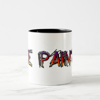 Rockn Robbin Two-Tone Coffee Mug