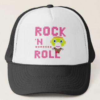 Rock'n Roll-Cute Monkey-Morocko Trucker Hat