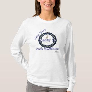 Rockn' Wreath Ladies Long Sleeve Shirt