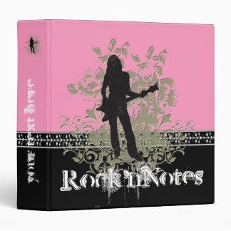 Rock'nNotes Binder