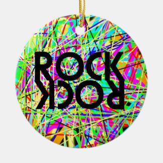 Rock'n'roll Ceramic Ornament
