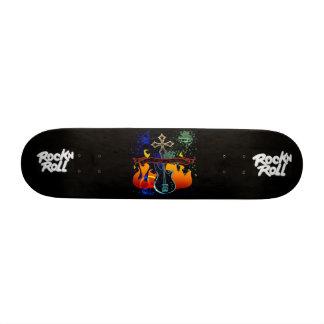RocknRoll - Designer 7 3 8 Deck Skateboard