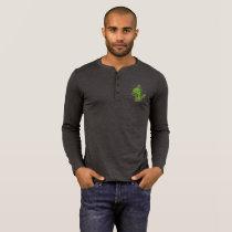 Rockosaur Dinosaur Henley T-Shirt