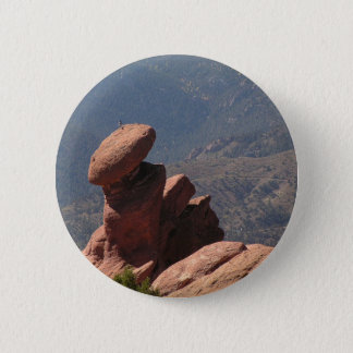 Rockpile at Garden of the Gods, Colorado Pinback Button