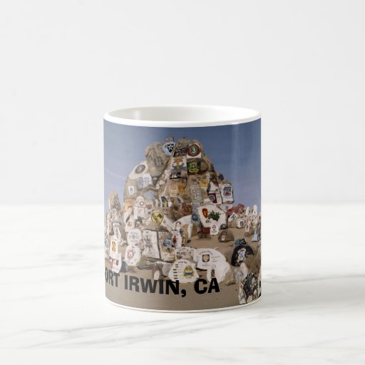 Rockpile Mug, FORT IRWIN, CA Classic White Coffee Mug