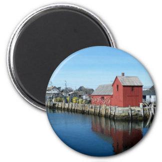 Rockport 2 Inch Round Magnet