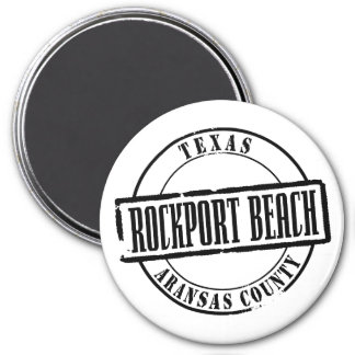 Rockport Beach Title Refrigerator Magnet