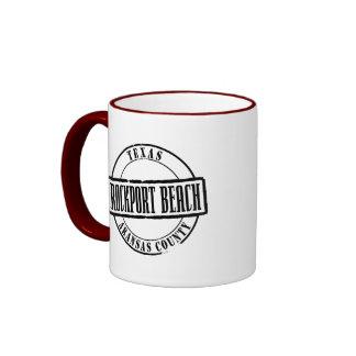 Rockport Beach Title Ringer Mug