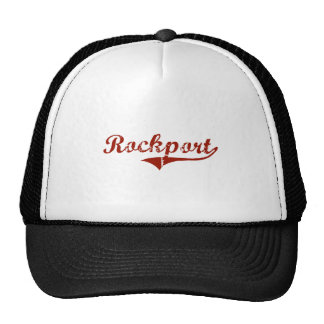 Rockport Indiana Classic Design Trucker Hat