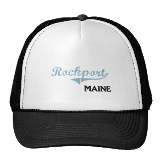 Rockport Maine City Classic Trucker Hat