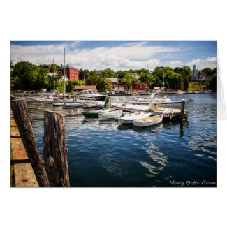 Rockport Maine Harbor