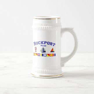 Rockport, ME Beer Stein