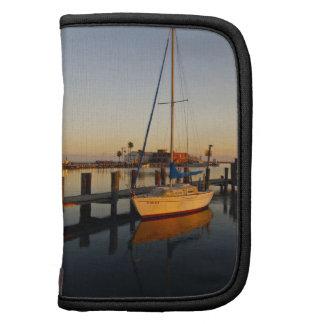 Rockport, puerto de Tejas en la puesta del sol Planificadores