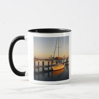 Rockport, Texas harbor at sunset Mug