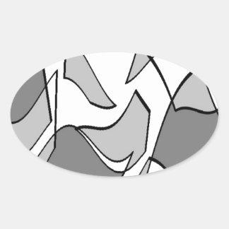 rocks2.jpg oval sticker