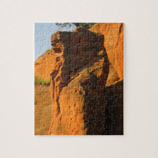 Rocks2 rojo puzzle con fotos