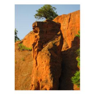 Rocks2 rojo tarjetas postales